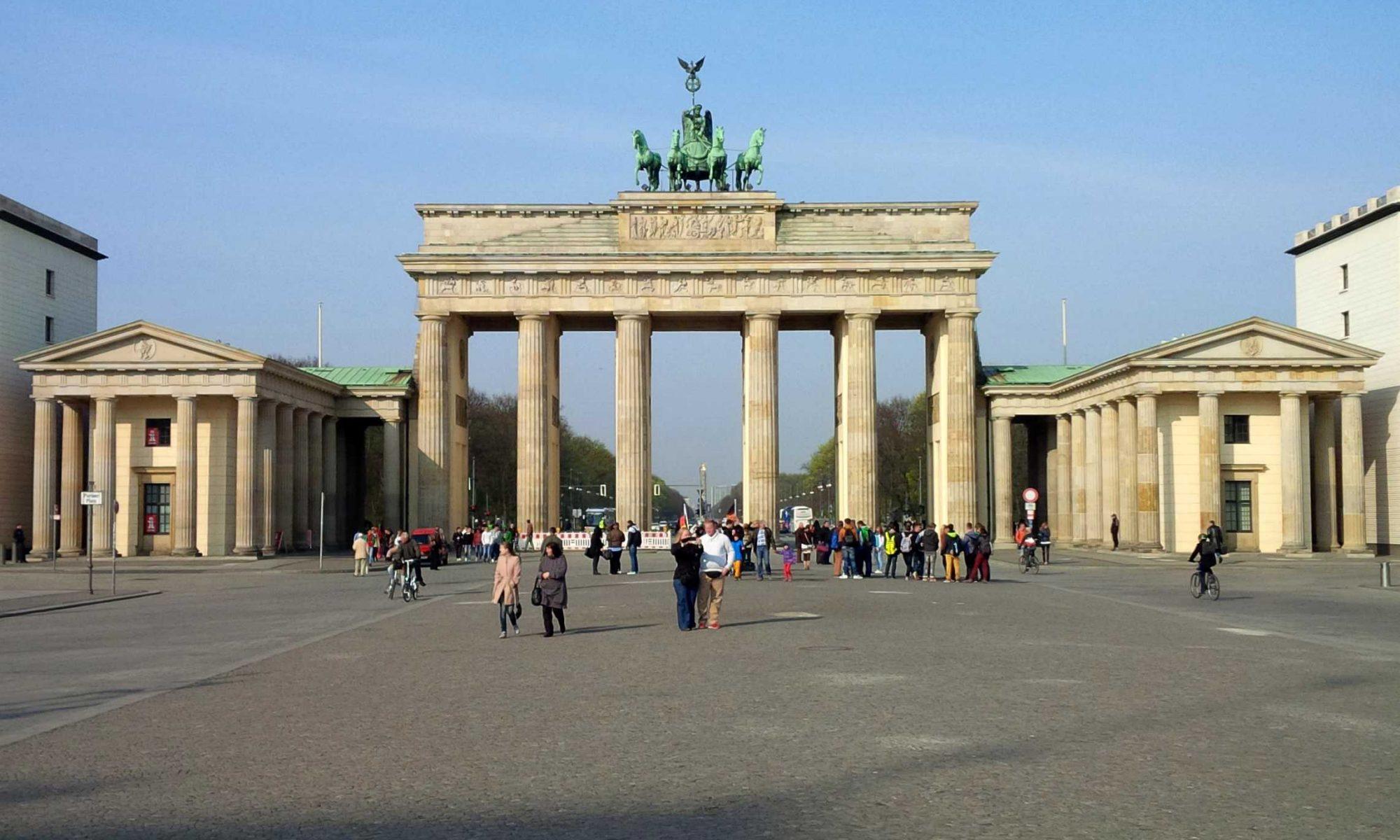Brandenburger Tor Berlin Marketing